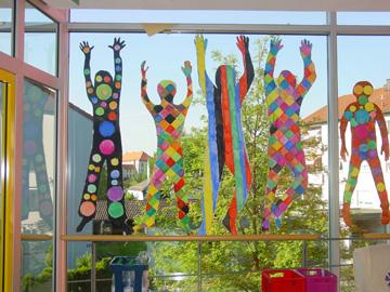 Gangfenster St. Felix Schule