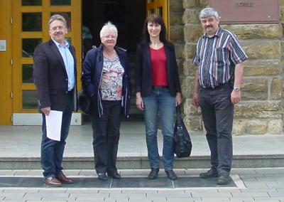 von links: Norbert Freundorfer, Ursula Fuchs, Brigitte Bachmann, Jens Günschmann